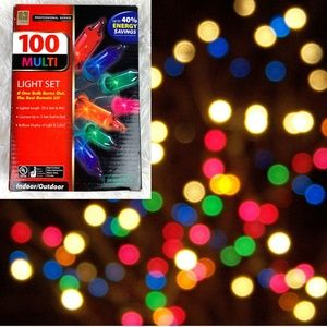 Other - Multicolored Indoor/Outdoor String Lights